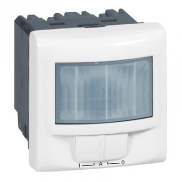 Legrand Détecteur de mouvements toutes lampes 2 fils mosaic 2 modules avec dérogation - blanc legrand 078459