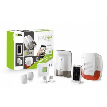 DELTA DORE Pack alarme radio sans fil tyxal+ complet et sirène offerte 6410177