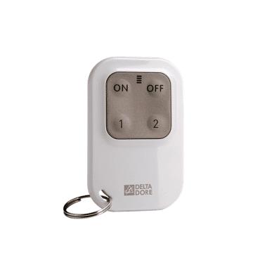 DELTA DORE Télécommande radio pour système d'alarme et automatismes tl 2000 tyxal+ 6413251