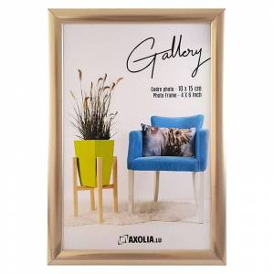 Axolia Cadre 10x15 Champagne Gallery - Publicité