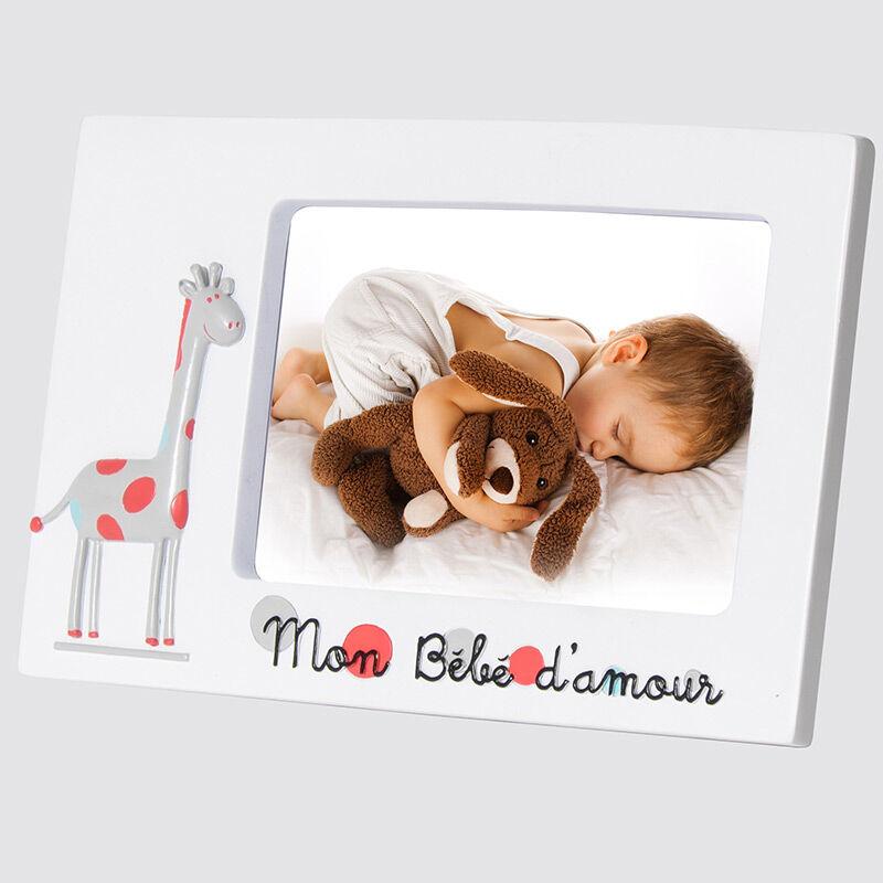 Emdé Cadre photo bébé Girafe enfant 10x15