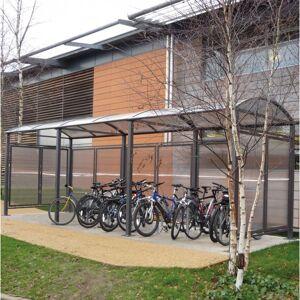 Rolléco Abri à vélos et motos voûte – Procity 1 abri à vélos et motos + 1 extension - Publicité