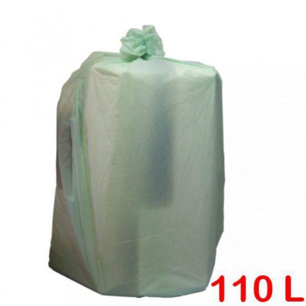 Rolléco Sac poubelle biodégradable 110L Ecru