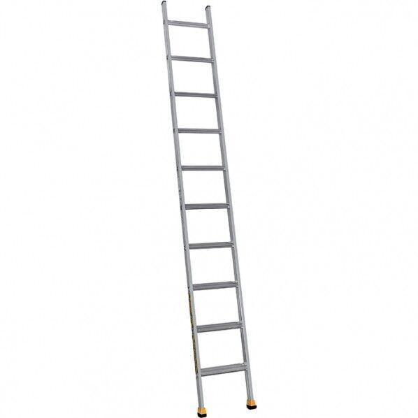 Rolléco Echelle simple alu à marches 8 marches