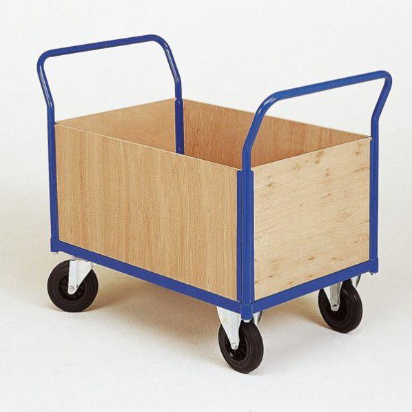 Rolleco Chariot De Manutention 4 Cotãs Bois