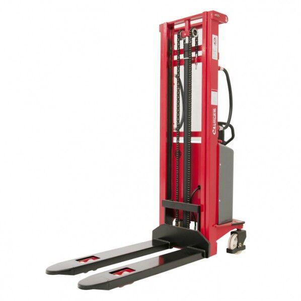Rolléco Gerbeur semi-électrique double mât Charge : 1000 kg