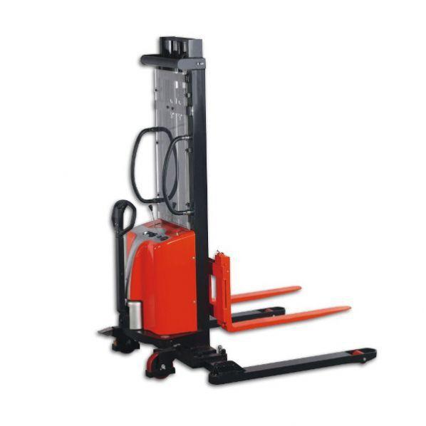 Rolléco Gerbeur semi-électrique 1000 kg Hauteur de levage : 3000 mm