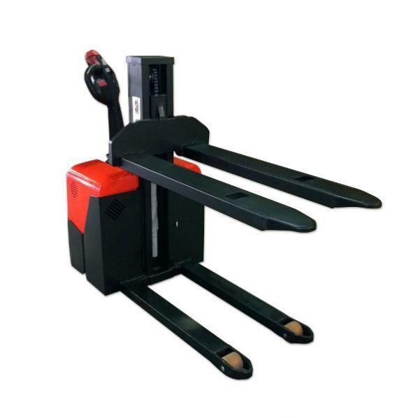 Rolléco Gerbeur électrique mât poutre 1000 kg Hauteur de levage : 800 mm
