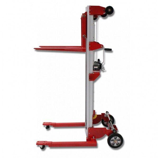 Rolléco Mini gerbeur manuel aluminium Charge maximale : 181 kilos