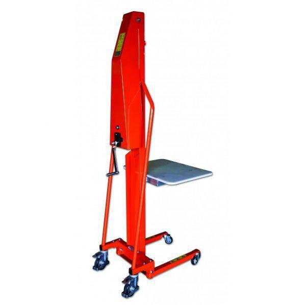 Rolléco Gerbeur positionneur à plateforme 200 kg 200 kg