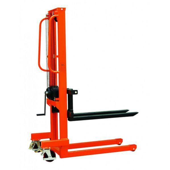 Rolléco Gerbeur à manivelle winch 1000 kg Charge maximale : 1000 kg
