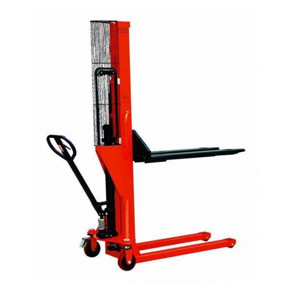 Rolléco Gerbeur manuel mât poutre Charge maximale : 1000 kg