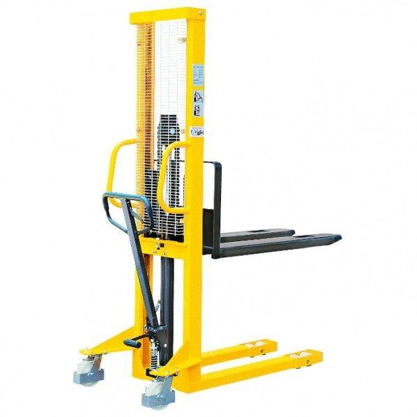 Rolléco Gerbeur manuel ergonomique – charge 1000 kg Hauteur de levage : 1600 mm
