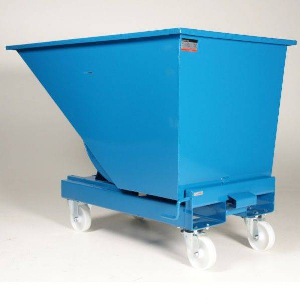 Rolléco Chariot benne 600 litres Brun = Compostable