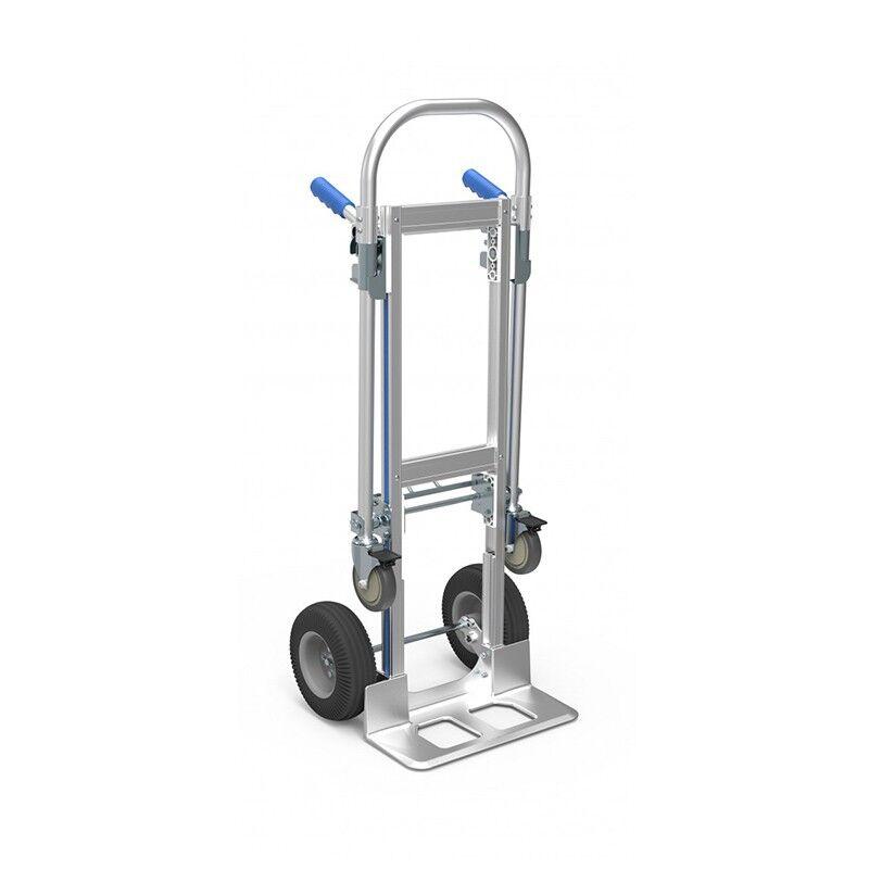 Rolléco Diable chariot 2 en 1 - 200/250 kg Charge 200 kg en mode 2 roues (mode diable)
