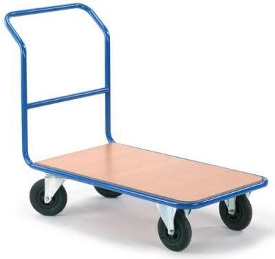Rolléco Chariot de manutention à roues gonflées - 225 kg