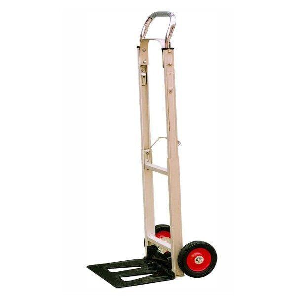 Rolléco Diable pliable aluminium ultra léger et compact 90kg Charge utile 90kg