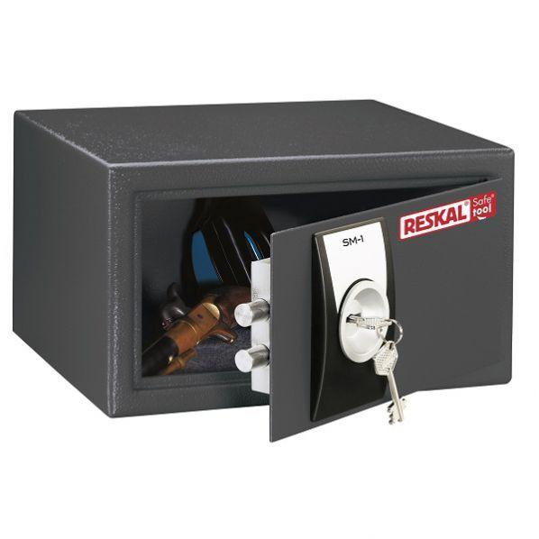 Rolléco Coffre-fort à clé sécurité 10 litres Coffre-fort avec serrure à clé