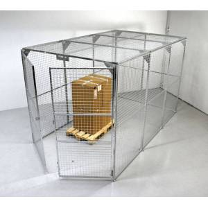 SETAM Box stockage grillagé 10.8m²