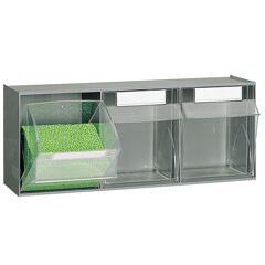 SETAM Rangement atelier bricolage 3 tiroirs plastiques basculants
