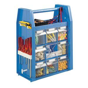 SETAM Valise plastique à outils avec 18 tiroirs - Publicité