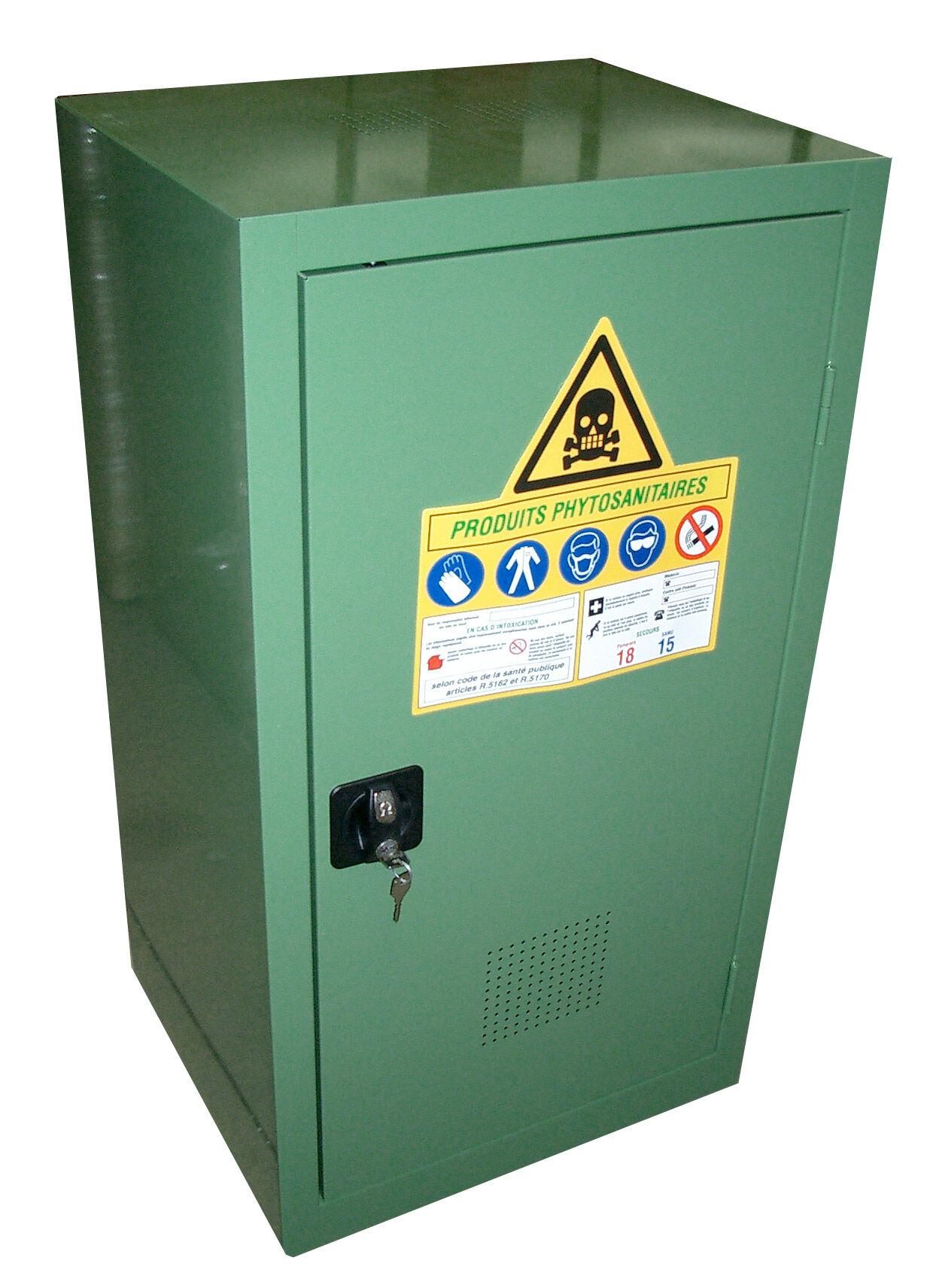 SETAM Armoire phytosanitaire volume 70 litres 1 porte