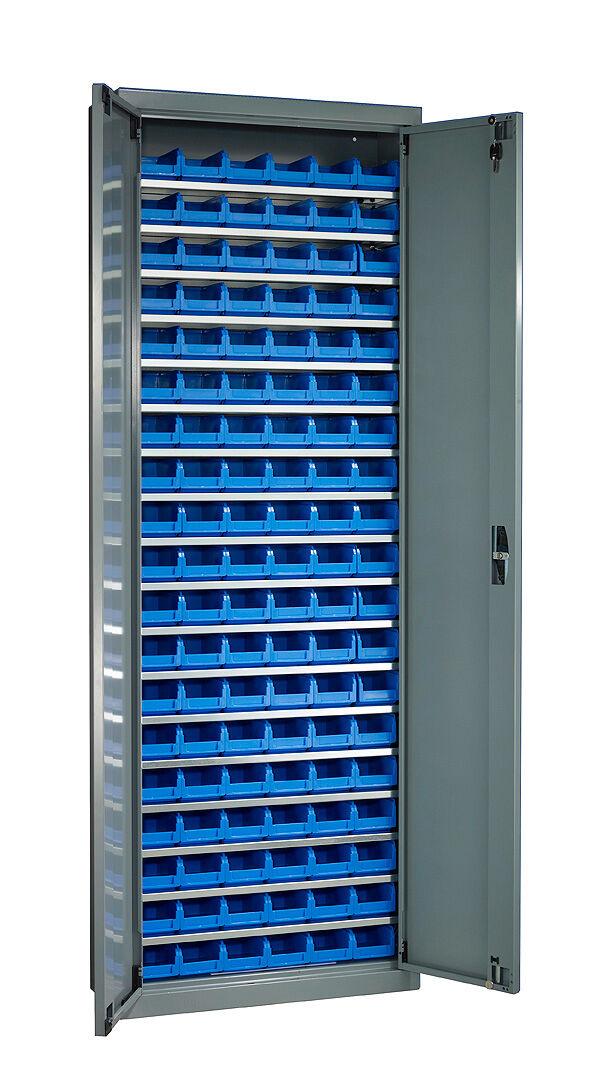 SETAM Armoire porte-bacs haute avec 114 bacs à bec 1 litre