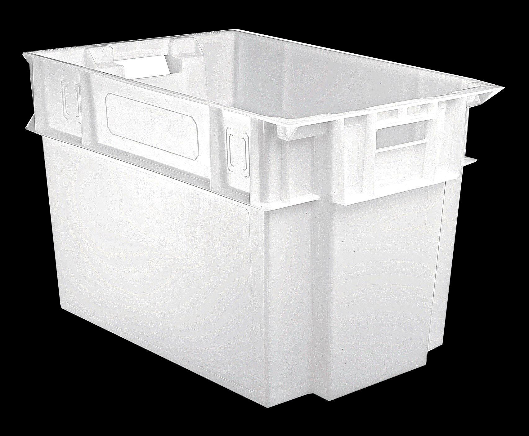 SETAM Bac alimentaire blanc vendange 600x400 volume 70 litres