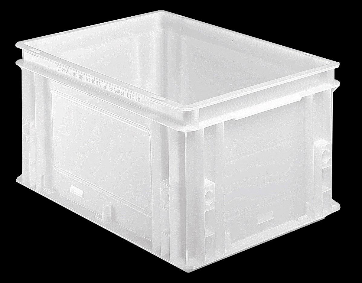 SETAM Bac alimentaire plastique blanc 20 litres