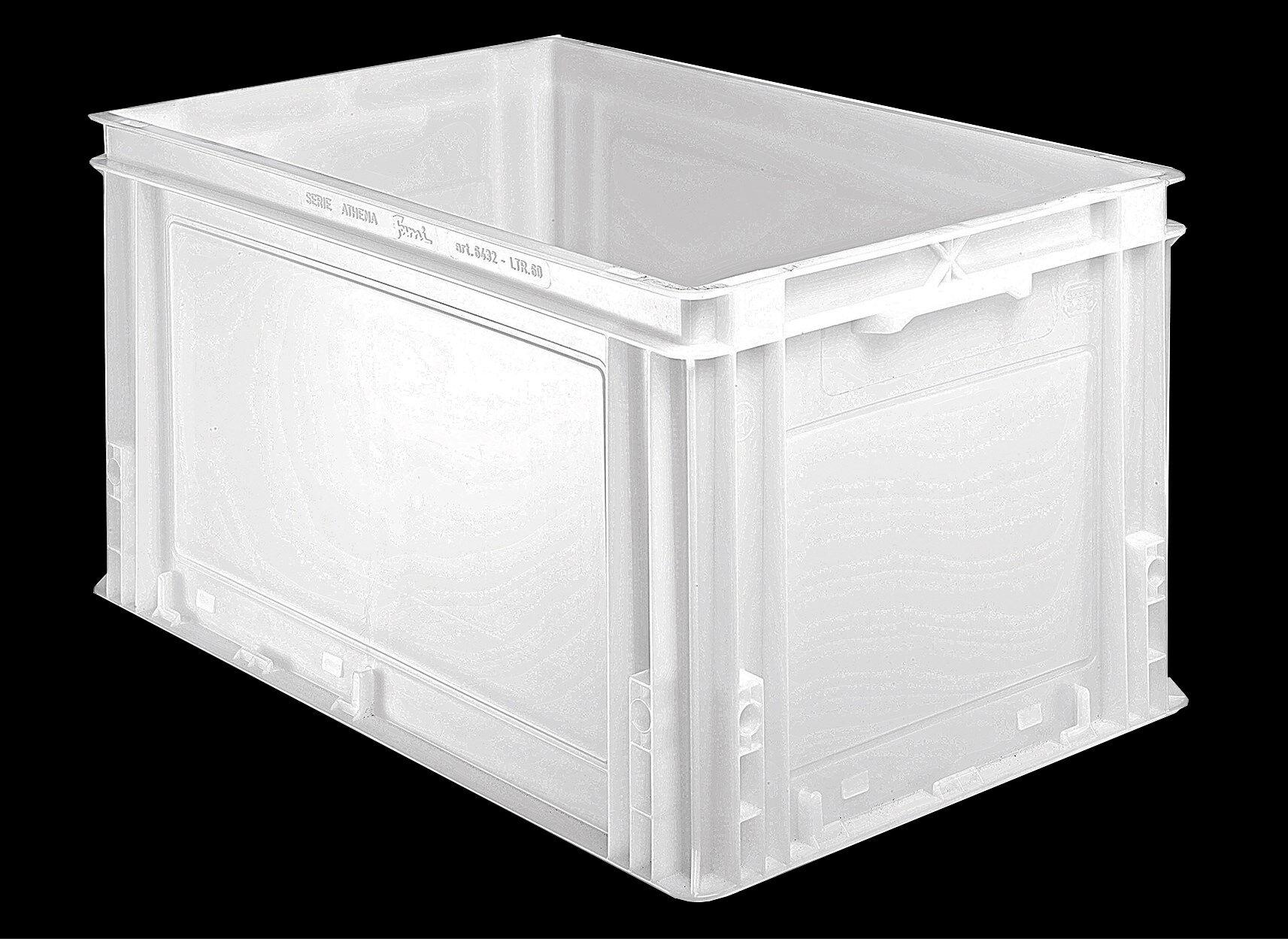 SETAM Bac alimentaire plastique volume 60 litres 600x400
