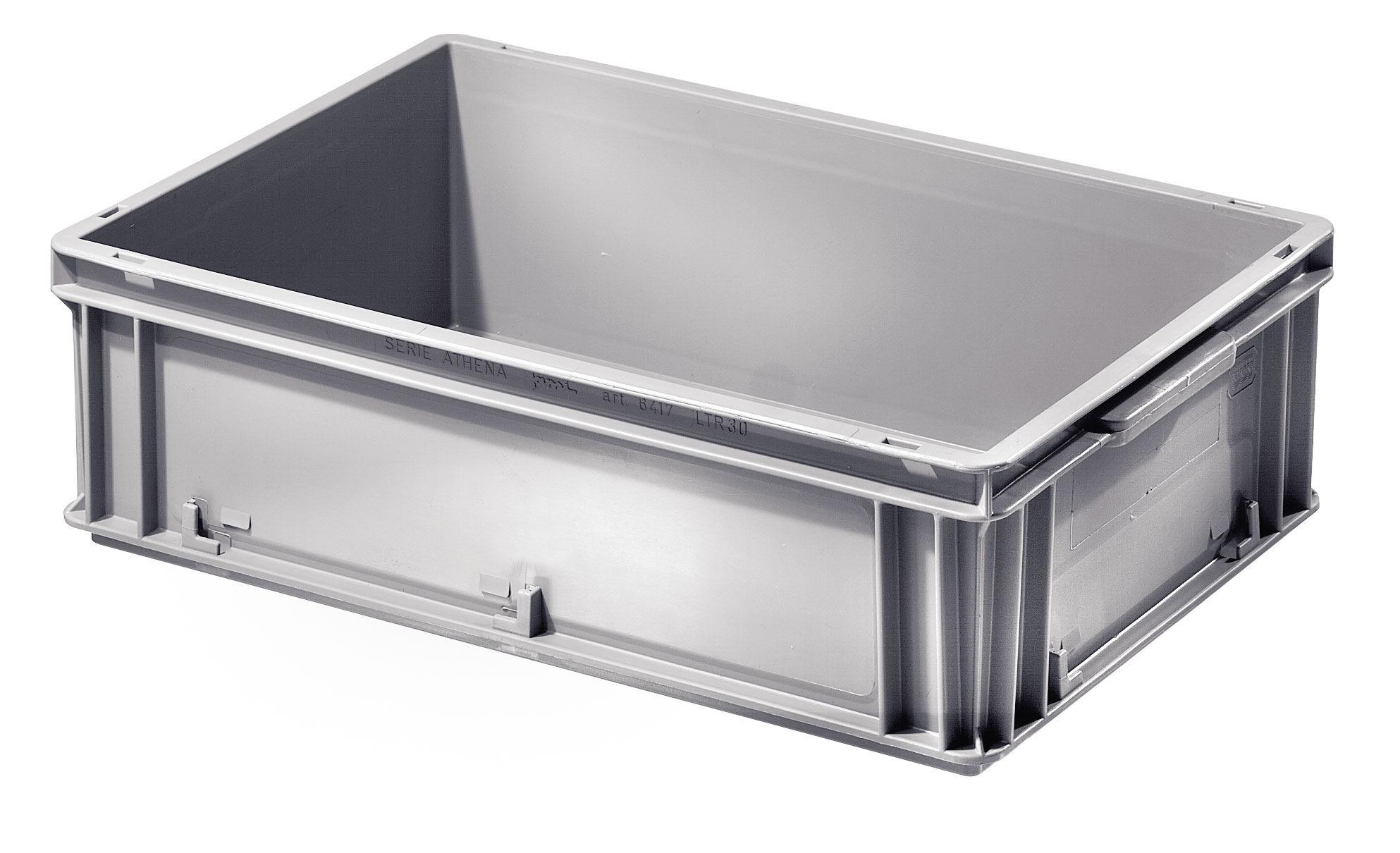 SETAM Bac de stockage plastique coloris gris 30 litres