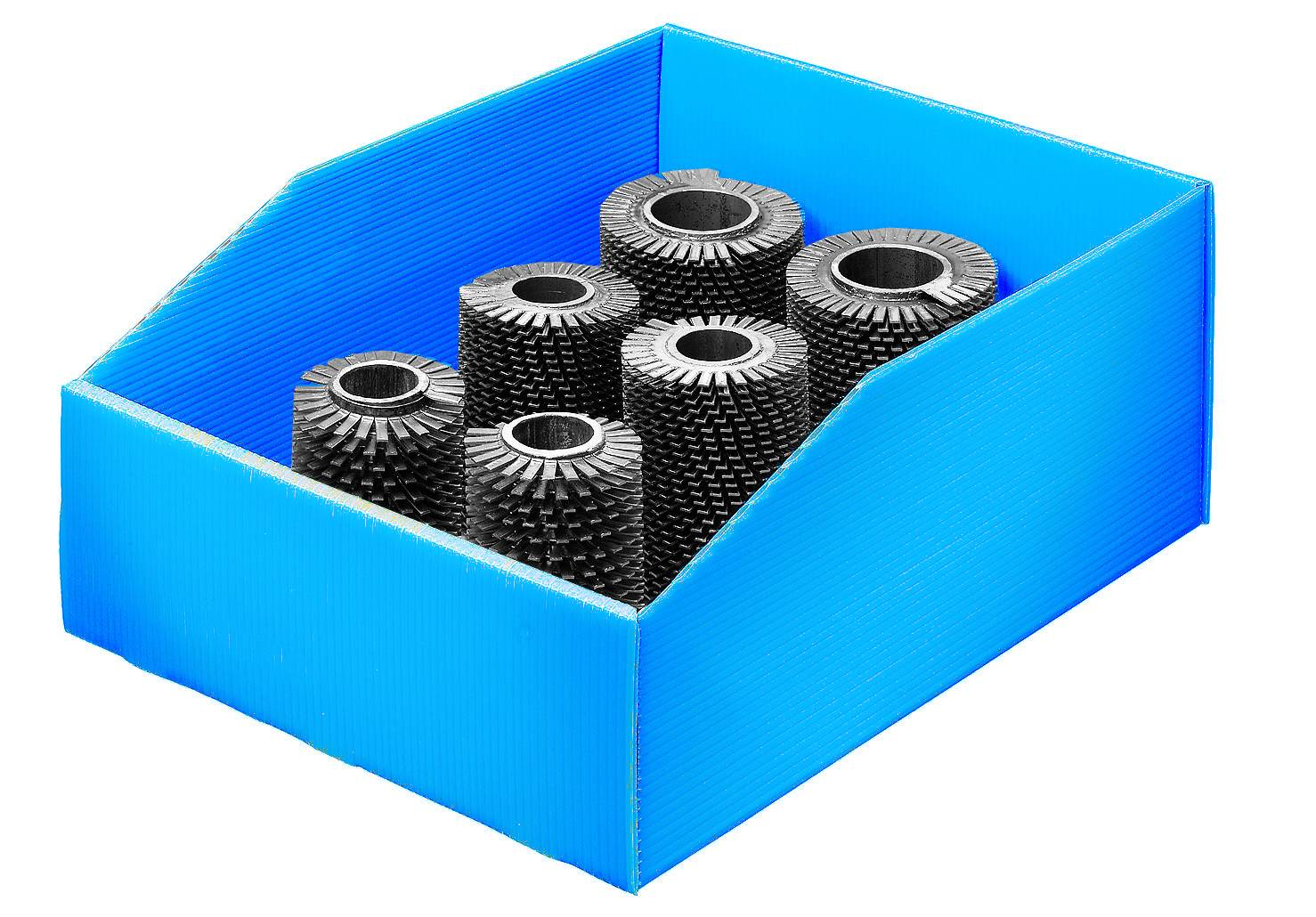 SETAM Bac pas cher polypropylène 17 litres bleu