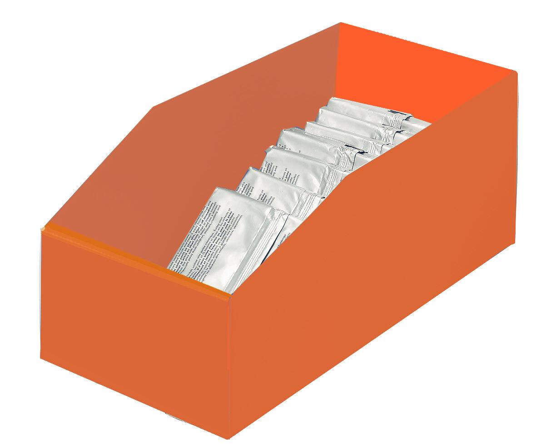 SETAM Bac plastique pas cher 13 litres orange