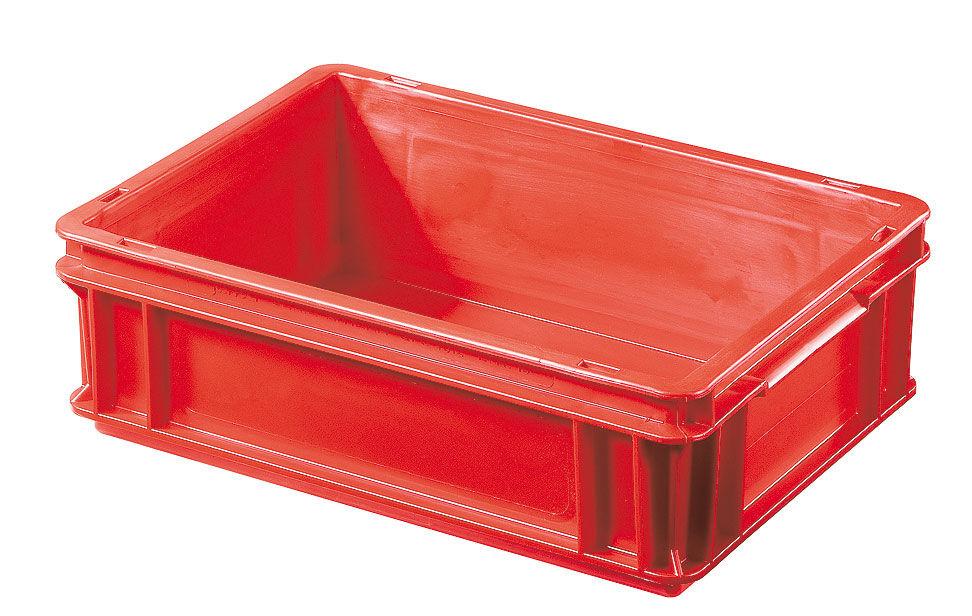 SETAM Bac plastique rouge Europe 10 litres 400x300 mm