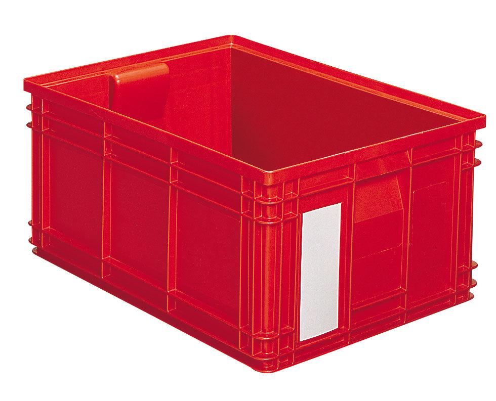 SETAM Caisse plastique 85 litres rouge