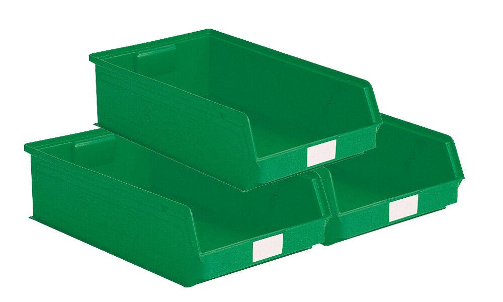 SETAM Carton 14 bacs à bec 20 litres coloris vert