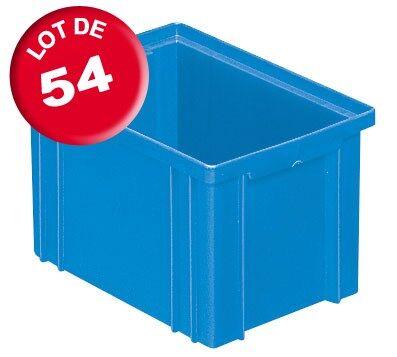 SETAM Carton de 54 caisses rangement CP 3.6 litres