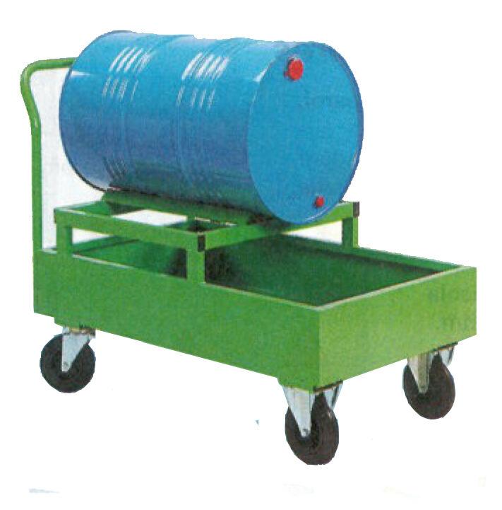 SETAM Chariot fût 220 litres avec bac de rétention
