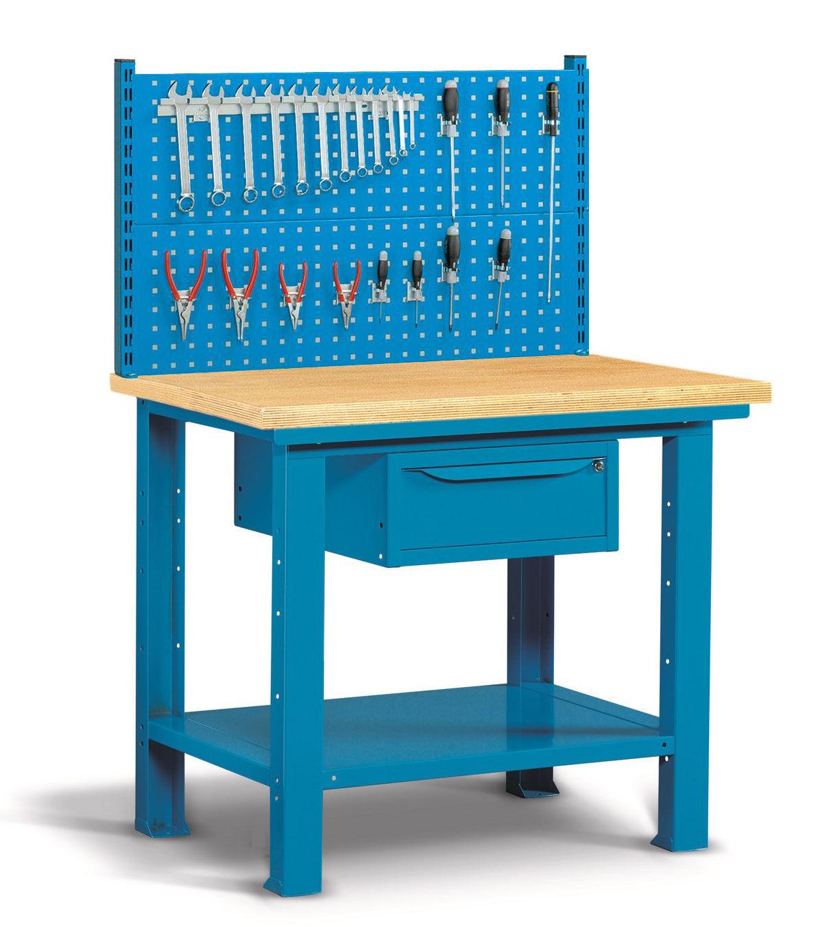 SETAM Etabli avec panneau perforé porte-outils 1 mètre