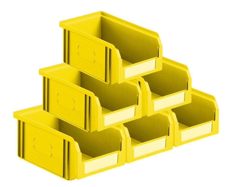 SETAM Lot 50 bacs à bec 1 litre jaune