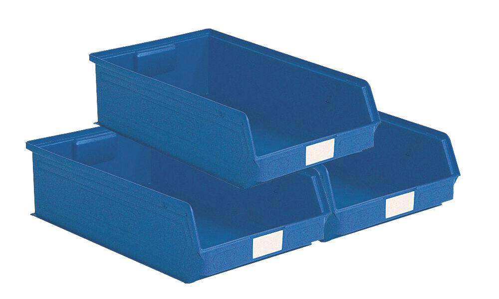 SETAM Lot de 14 bacs à bec grand volume 20 litres bleu