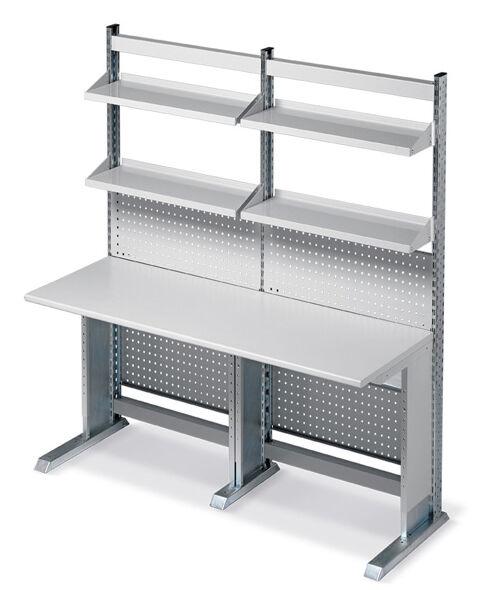 SETAM Poste ergonomique d'atelier longueur 205 cm
