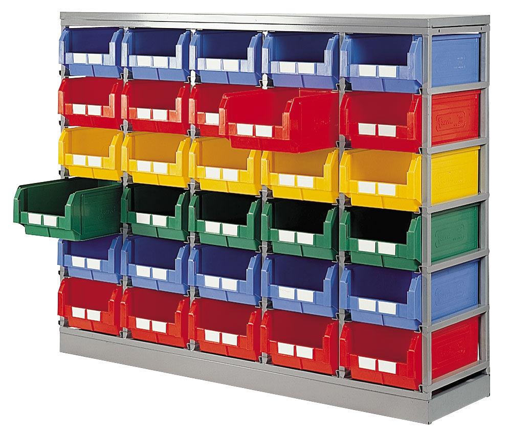 SETAM Rack rangement pour 30 bacs à bec 28 litres