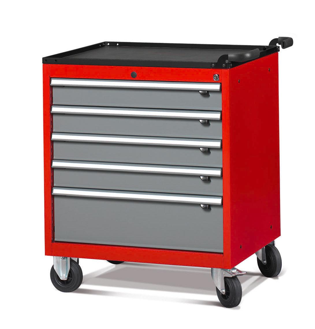 SETAM Servante atelier 5 tiroirs modèle large