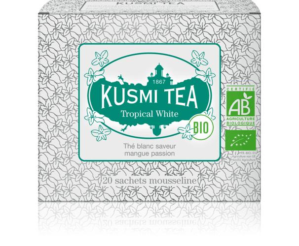 KUSMI TEA Tropical White bio  Th...