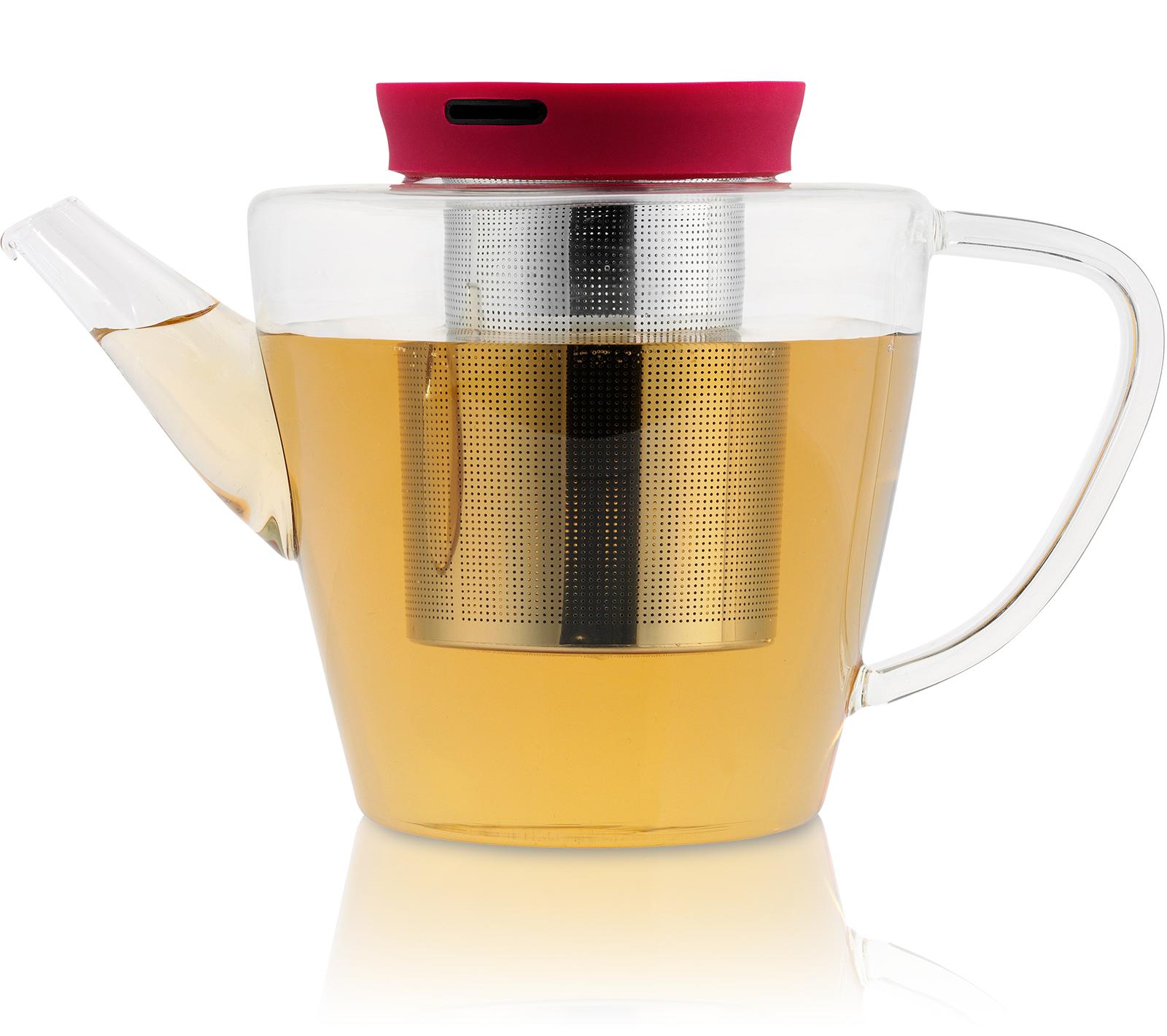 KUSMI TEA Théière Infusion en verre avec filtre 1L Kusmi Tea