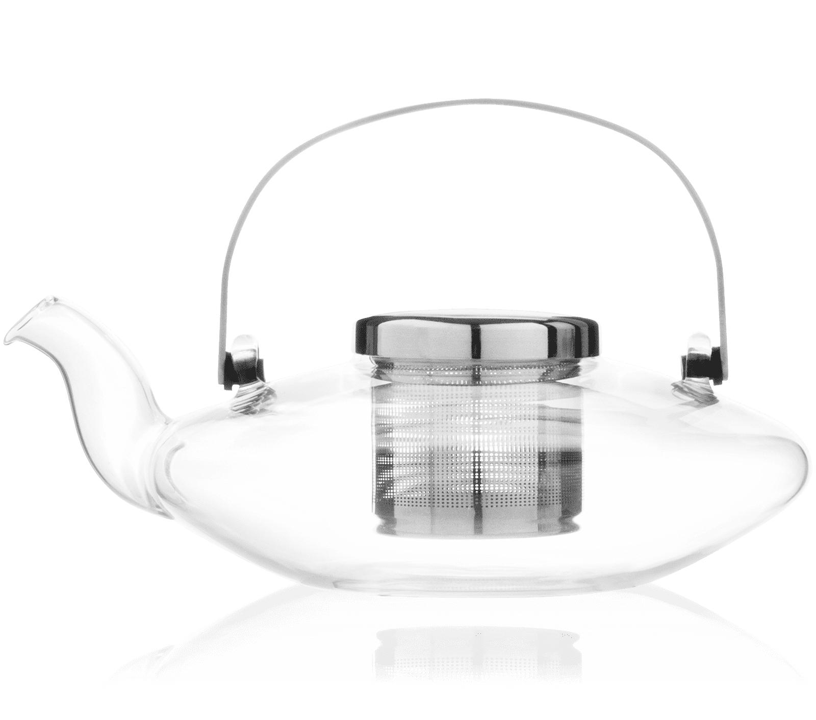 KUSMI TEA Théière en verre Leaf Kusmi Tea