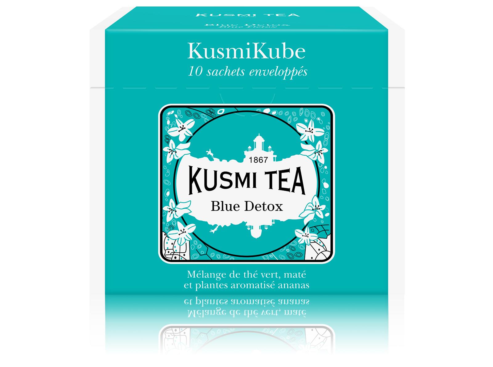 KUSMI TEA Blue Detox Thé vert  Kusmi Tea