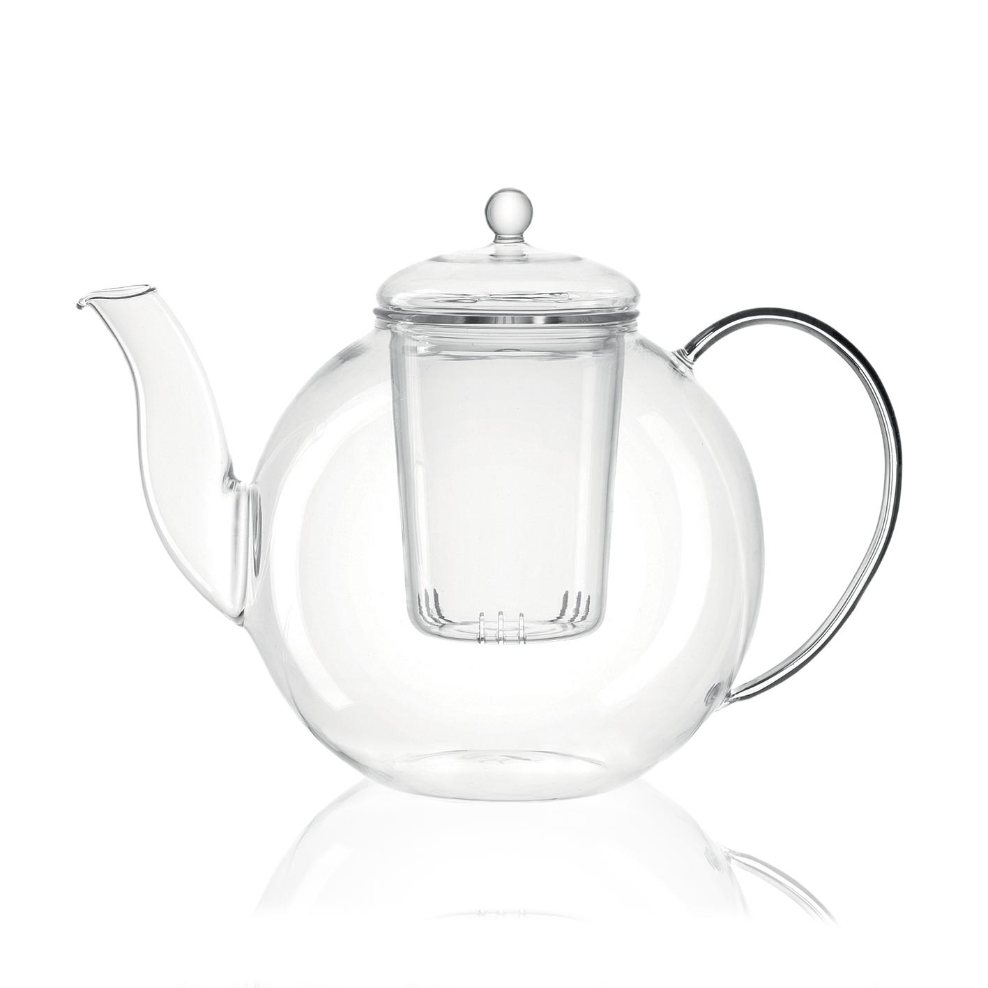 KUSMI TEA Théière en verre 1,2L Armonia - Accessoire pour le thé - Kusmi Tea
