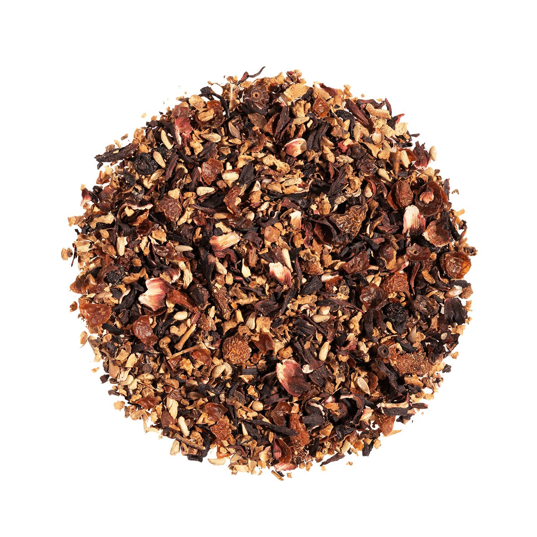 KUSMI TEA AquaFrutti (Infusion de fruits bio) - Infusion hibiscus, baies de goji - Thé en vrac - Kusmi Tea